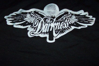 The Darkness Babydoll T-Shirt Wings Logo Black Size M/OS