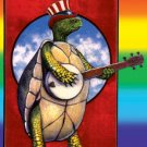Grateful Dead Vinyl Sticker Terrapin Station Turtle