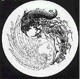 Danzig Vinyl Sticker Yin Yang Logo