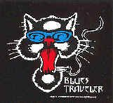 Blues Traveler Vinyl Sticker Cat Logo