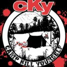 CKY Vinyl Sticker Tent Logo Camp Kill Yourself