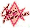 Jane's Addiction Vinyl Sticker Star Letters Logo