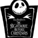 Nightmare before Christmas Vinyl Sticker Jack Logo