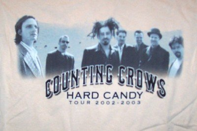 Counting Crows T-Shirt Hard Candy Beige Size Large