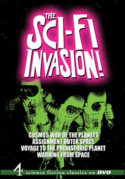 The Sci-Fi Invasion! DVD