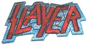 Slayer Iron-On Patch Letters Logo