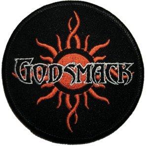 Godsmack Iron-On Patch Tribal Sun Logo