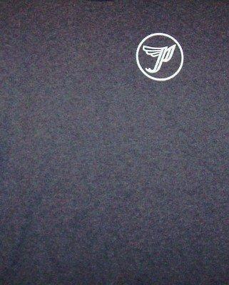 Pixies T-Shirt Circle P Logo Gray Size Large