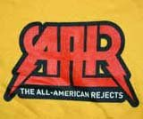 All-American Rejects T-Shirt AAR Logo Gold Size Large