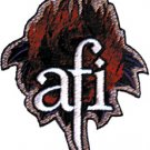 AFI Iron-On Patch Flame Rose Logo