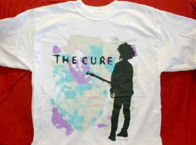 The Cure T-Shirt Boys Don't Cry White Size Large