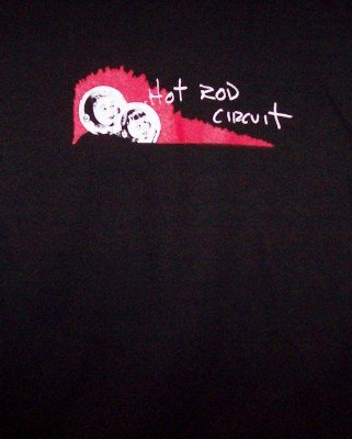 Hot Rod Circuit T-Shirt Black Size XL