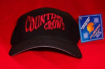 Counting Crows Hat Hard Candy Black Size Small Medium