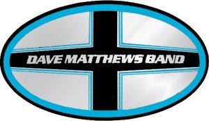 Dave Matthews Band Vinyl Sticker Chrome Logo