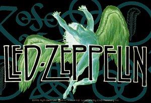Led Zeppelin Vinyl Sticker Swan Song Logo