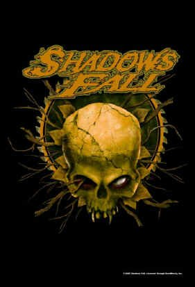 Shadows Fall Poster Flag Skull Logo Tapestry
