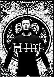 HIM Poster Flag Ville Valo Tombstone Tapestry