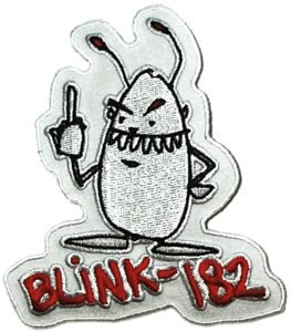 Blink 182 Iron-On Patch Bug Logo