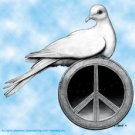 Grateful Dead Vinyl Sticker Peace Dove Phillip Garris