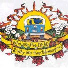 Grateful Dead Window Sticker VW Bus Following Me