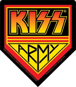 Kiss Army Vinyl Sticker
