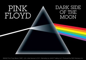 Pink Floyd Vinyl Sticker Dark Side of the Moon