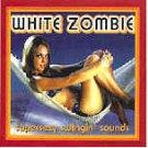 White Zombie Vinyl Sticker Super Sexy Square