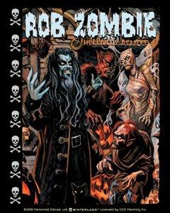 Rob Zombie Vinyl Sticker Hellbilly Deluxe Logo
