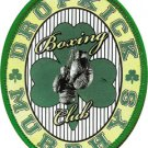 Dropkick Murphys Iron-On Patch Boxing Club Logo