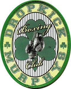 Dropkick Murphys Iron-On Patch Boxing Club Logo