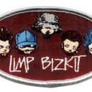 Limp Bizkit Iron-On Patch Cartoon Logo
