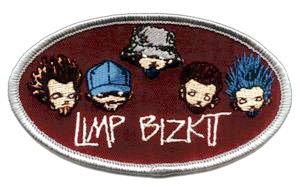 Limp Bizkit Iron-On Patch Cartoon Logo
