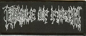 Cradle of Filth Iron-On Patch Letters Logo
