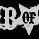 Lamb of God Vinyl Sticker Star Letters Logo