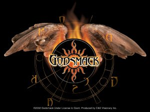Godsmack Vinyl Sticker Wings Logo