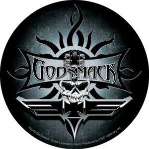 Godsmack Vinyl Sticker Skull Logo