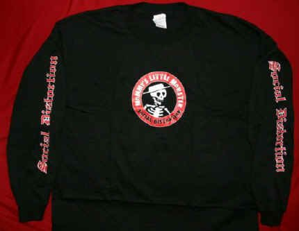 Social Distortion Long Sleeve T-Shirt Black Size Large