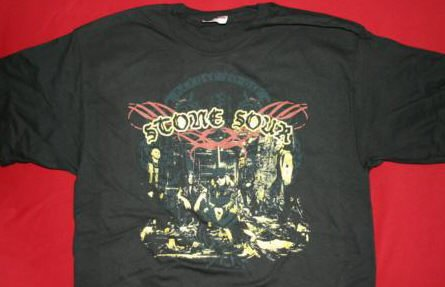 Stone Sour T-Shirt Refuse Group Logo Black Medium