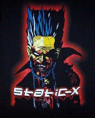 Static-X T-Shirt We're So Cold Black Size Medium