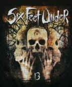 Six Feet Under T-Shirt 13 Logo Black Size Large