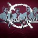 Mudvayne T-Shirt Waster Logo Maroon Size XL