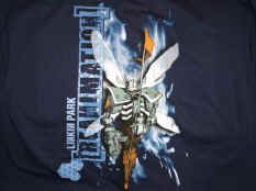 Linkin Park Long Sleeve T-Shirt Reanimation Navy Size Medium
