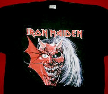 Iron Maiden T-Shirt Purgatory Black Size Large