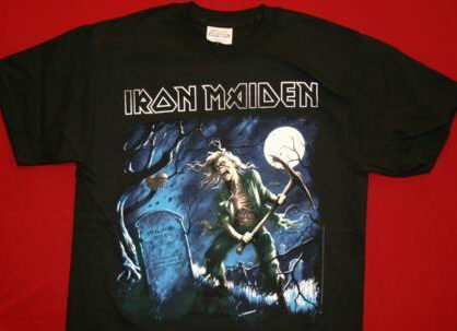 Iron Maiden T-Shirt Benjamin Black Size XXXXL 4XL