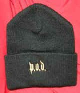 POD Beanie Cap Black Logo Payable On Death