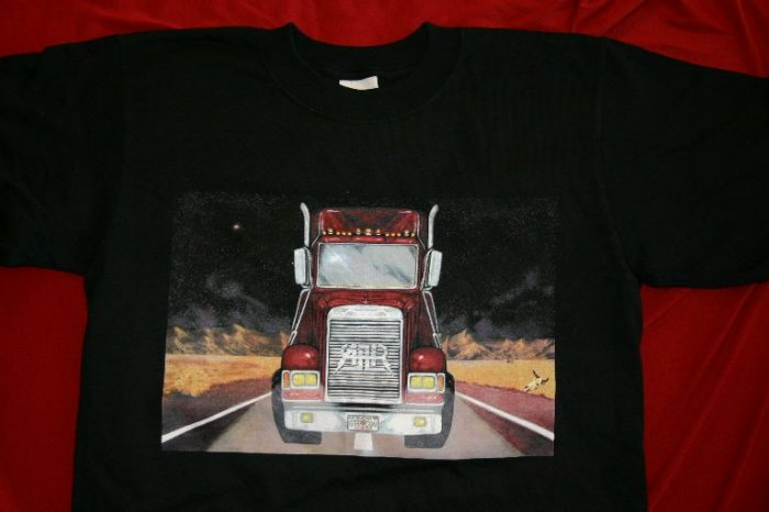 All-American Rejects T-Shirt Truck Logo Black Size Small