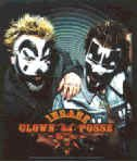 Insane Clown Posse Vinyl Sticker Close-up Photo