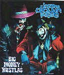 Insane Clown Posse Vinyl Sticker Big Money Hustlas