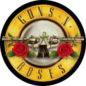 Guns n' Roses Vinyl Sticker Circle Bullet Logo