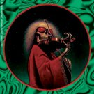 Grateful Dead Vinyl Sticker Green Blues